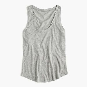Jcrew scoop neck tissue tank top plus size 3x